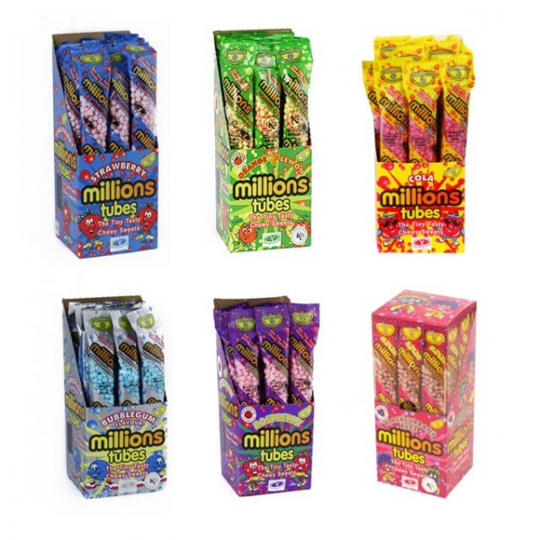 Millions Party Packs - 12 tubes