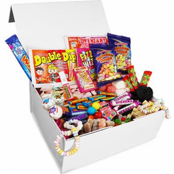 Retro Sweets - Deluxe Retro Sweet Box - Large