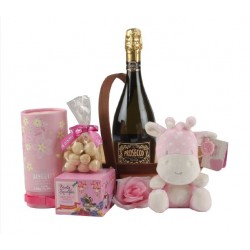 New Baby Pink Treats Hamper