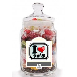i Love the 90's Sweet Jar