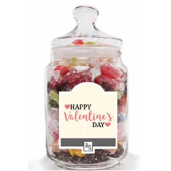 Romantic Jar of Sweets.