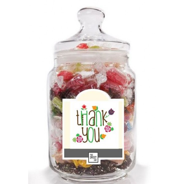 Thank you Jar of Sweets