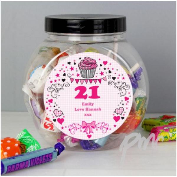 Birthday Big Age Sweet Jar