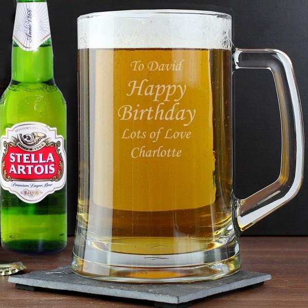 Stern Tankard & Beer Set