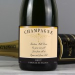 Any Message Classic Label Champagne