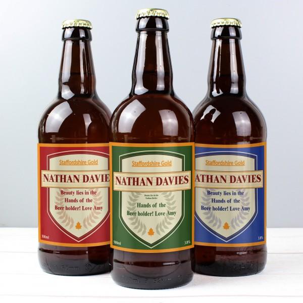 Set of 3 Shield Beers