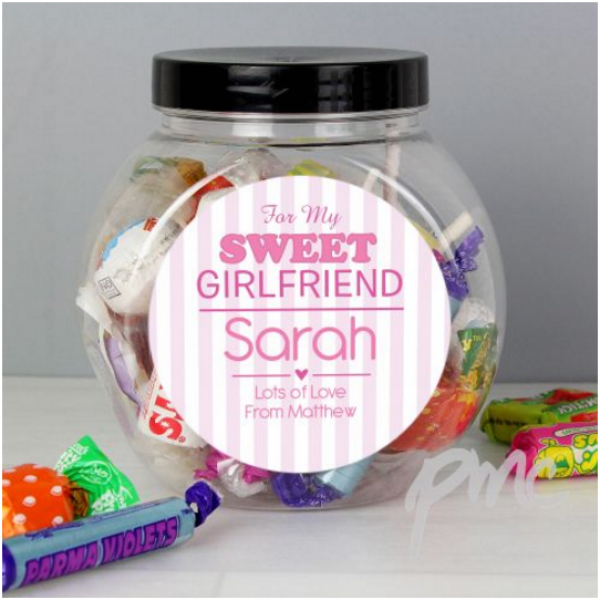 For My Sweet Sweets Jar